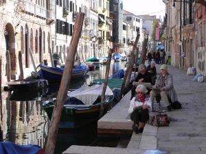 Venedig,Stendörr blomman 447