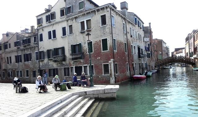 Venedig,Stendörr blomman 573